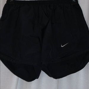 Solid Black Nike Shorts